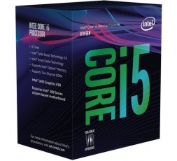 CPU INTEL CORE i5-8400 (Coffee Lake) 2.8 GHz