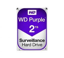 WD Purple Surveillance Hard Drive WD20PURZ - HDD - 2 TB
